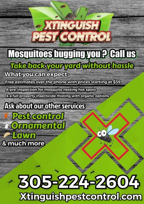Mosquito Control Miami and Homestead